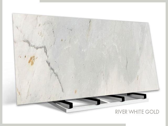 River White Gold – Marble – Slab