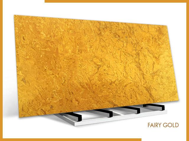 Fairy Gold – Marble – Slab