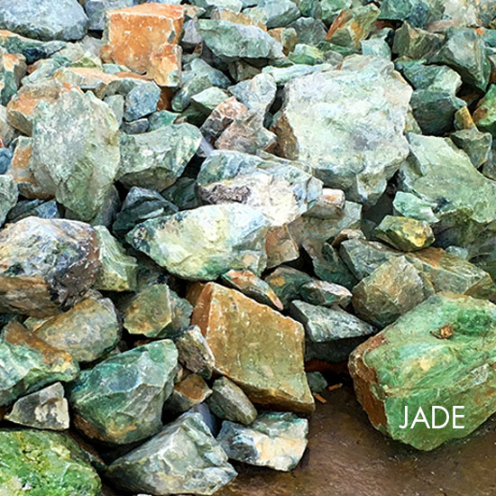 Jade – Gem Stone – Blocks