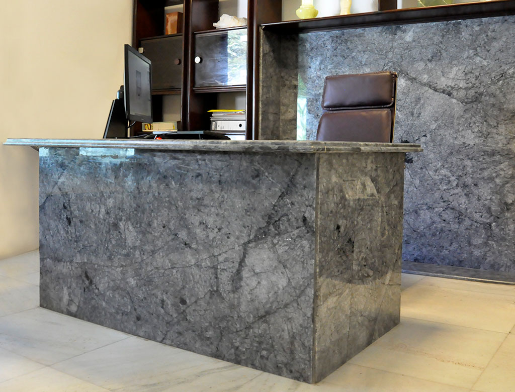 Kornico Grey – Marble – Application