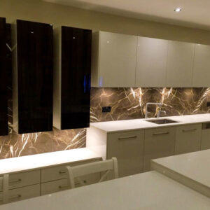 Pietra Brown – Marble – Application