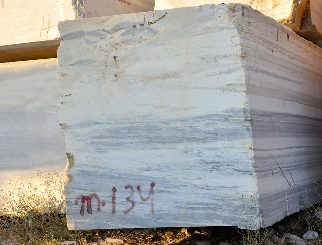 River White Gold – Marble – Block